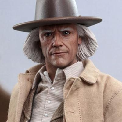 Doc Brown (Back to the Future) Sixth Scale Figure by Hot Toys