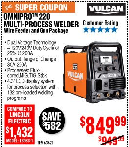NEW PRODUCT ALERT: Titanium Welder Series - Harbor Freight