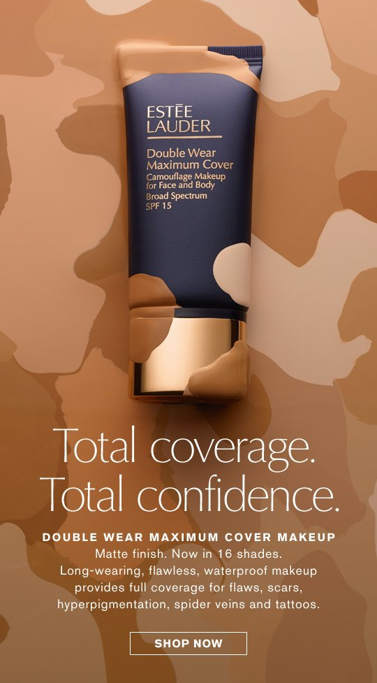 total coverage total confidence double wear maximum cover makeup