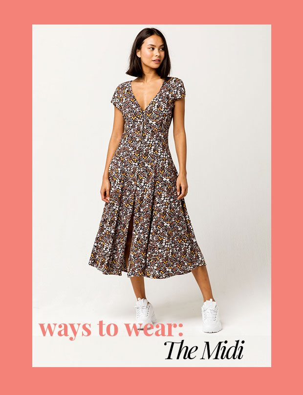 WAYS TO WEAR THE MIDI - Shop Midi Dresses
