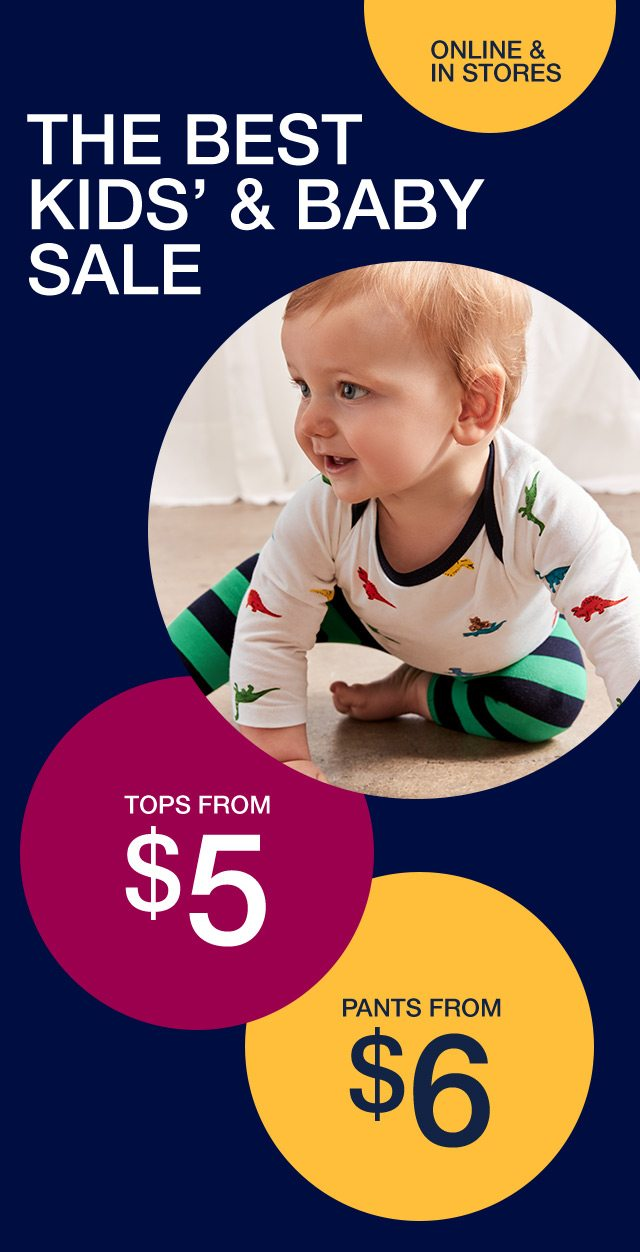 THE BEST KIDS' & BABY SALE