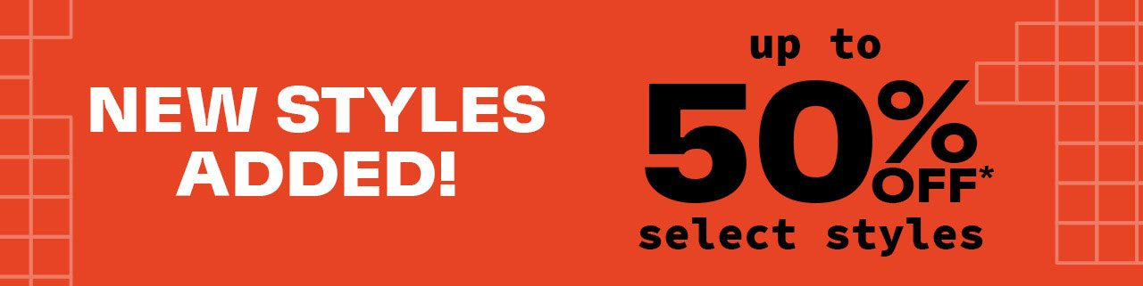 THERE'S STILL TIME FOR 30% SELECT STYLES