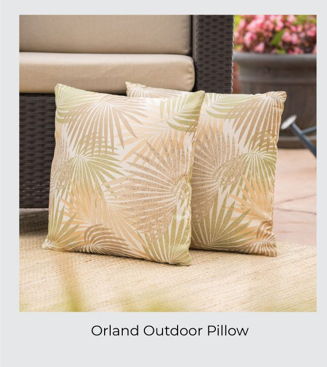 Orland Outdoor Pillow