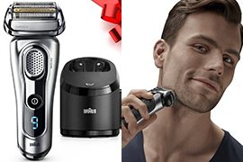 Braun Series 9 9290cc Men's Electric Foil Shaver w/ Clean and Charge Station