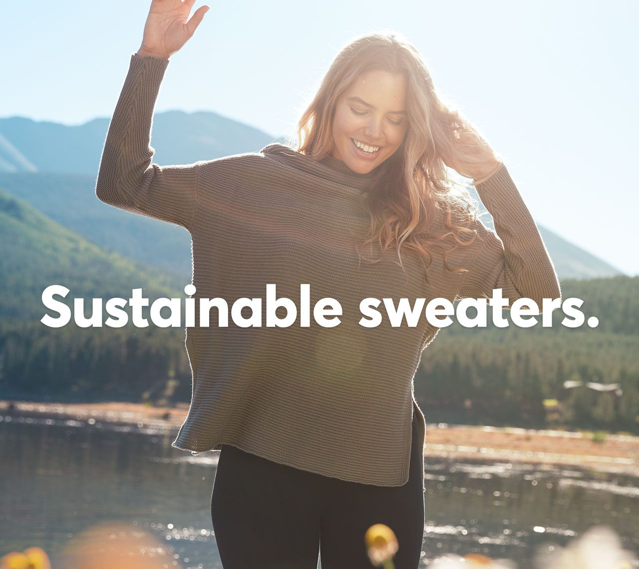 Sustainable Sweaters.