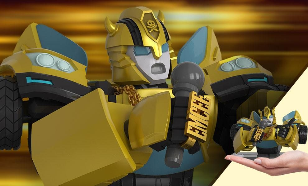 Transformers x Quiccs: Bumblebee Bust by Mighty Jaxx