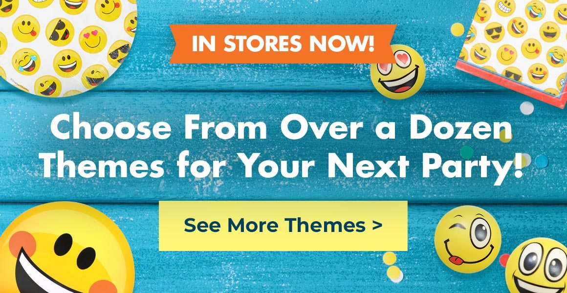 Shop Trendy Party Themes Online!