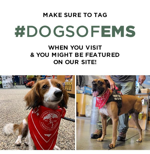 Make sure to Tag #dogsofEMS When you visit & You might be featured on our site!