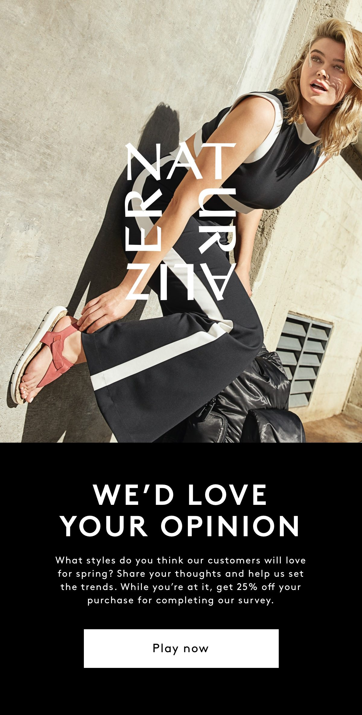 >>We'd love your opinion