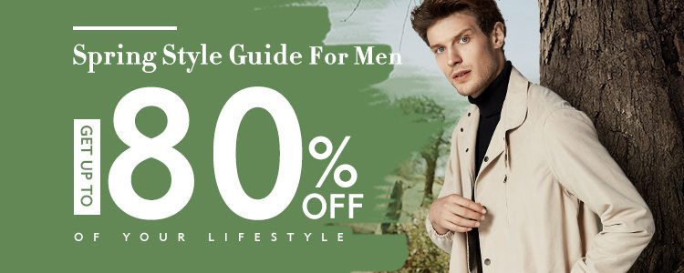 Men Spring Fashion Sale Up To 80% OFF