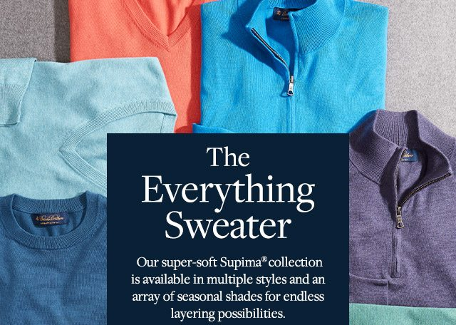 THE EVERYTHING SWEATER