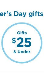 gifts $25 and under.