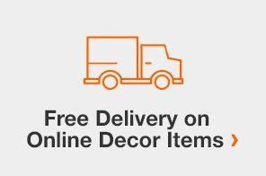 Free Delivery on Online Decor Items