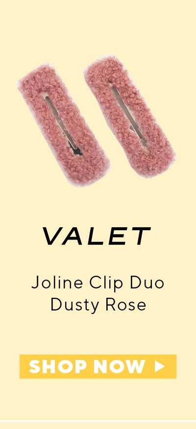 Valet Joline Clip Duo Dusty Rose
