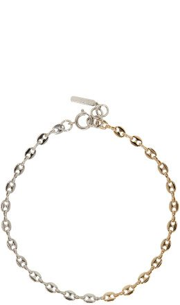 Justine Clenquet - Gold & Silver Bicolor Choker