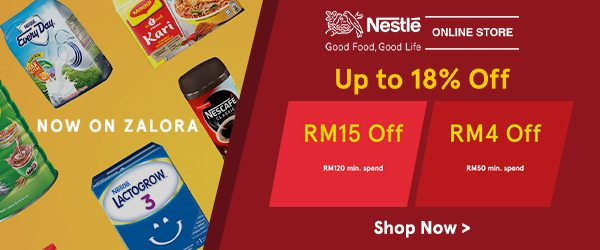 Nestle Up to 18% Off