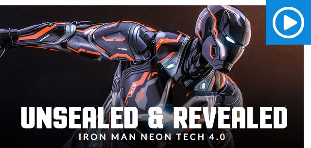 Unsealed and Revealed: Iron Man Neon Tech 4.0