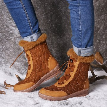 Adjustable Snow Boots