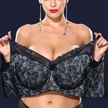 Embroidered Full Coverage Bras