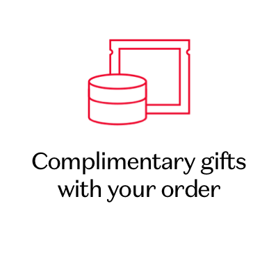 Complimentary gifts with your order