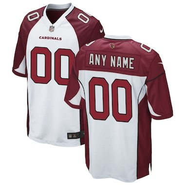 Arizona Cardinals Nike Custom Game Jersey - White