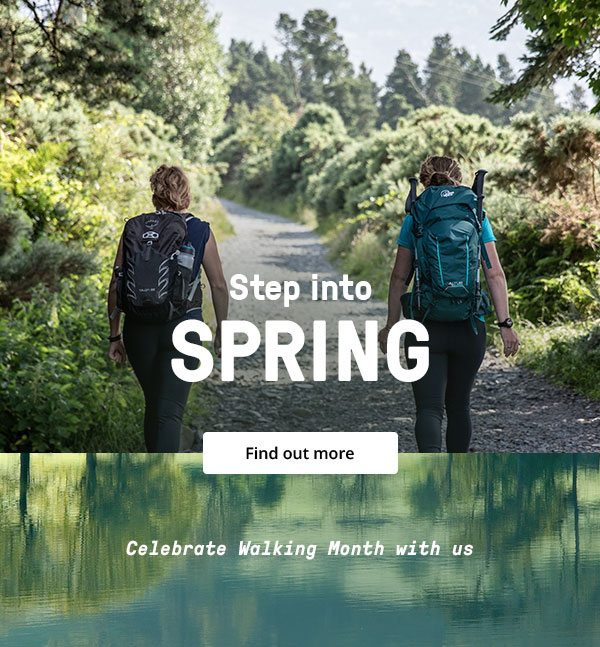 Step into Spring - Find out more