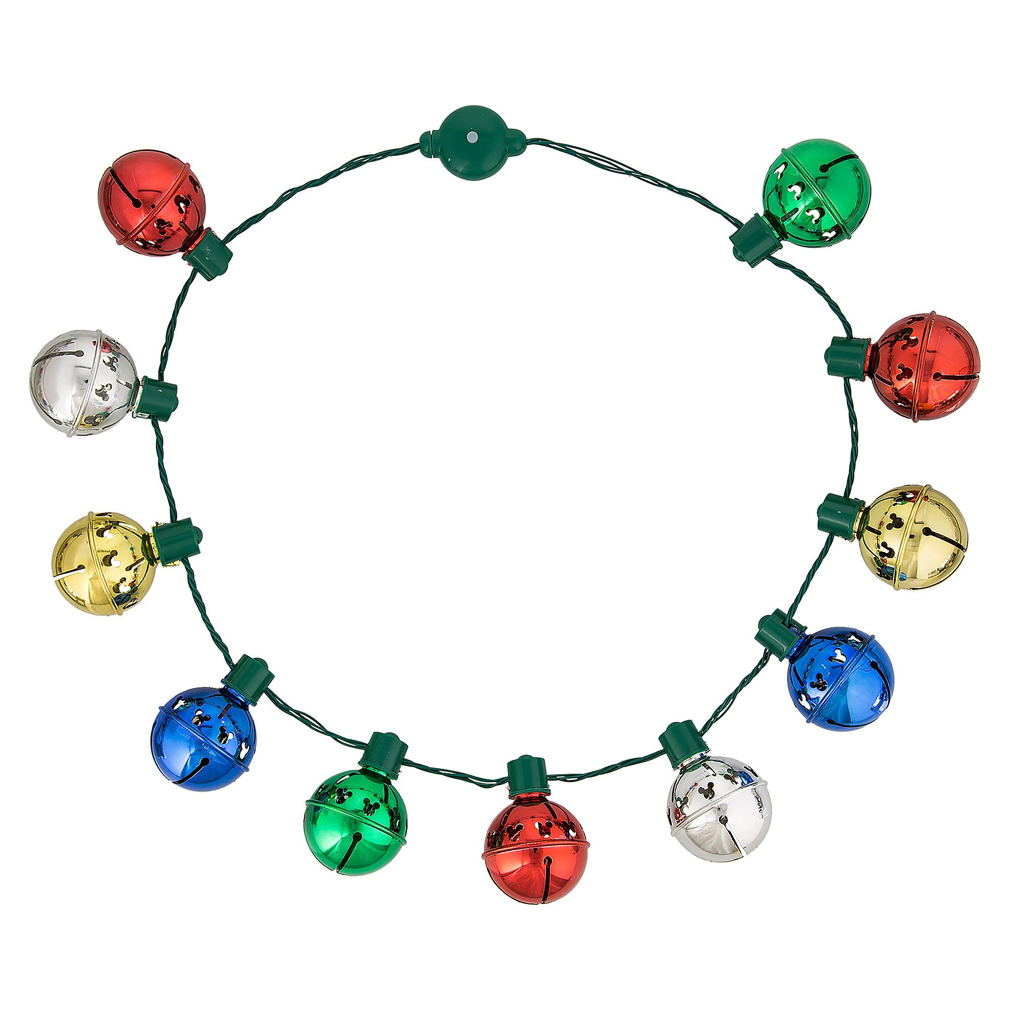 Mickey Mouse Jingle Bell Light-Up Necklace