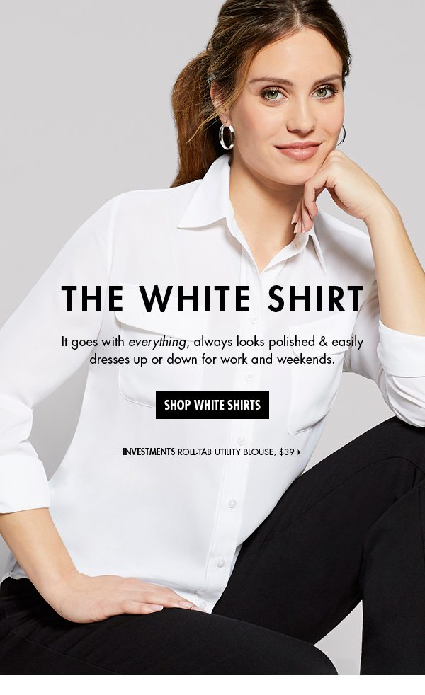 6caafbd6f3974f The white shirt  You can never have too many - Dillard s Email Archive