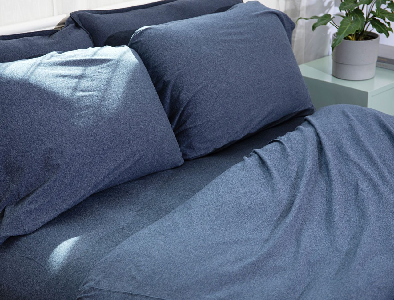 Favorite Tee Sheets in Indigo Heather