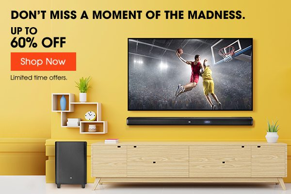 JBL Madness Home Sale | Savings up to 60% Off.
