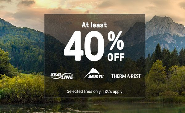 At lease 40 Percent Off - Shop all