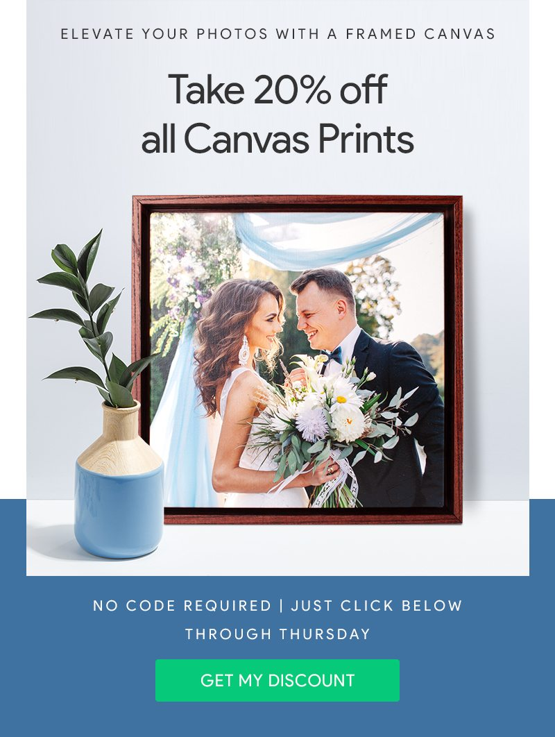 Canvas Floating Frame Sale