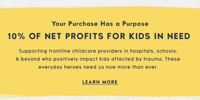 Life is Good Donates 10% of its net profits for kids in need