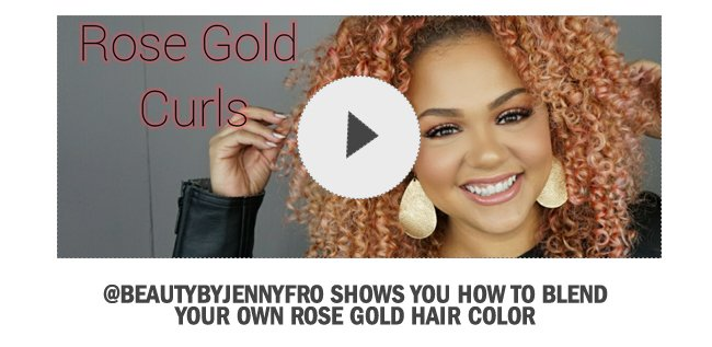 Diy Rose Gold Hair With New Wella Color Charm Paints