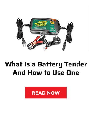 What is a battery tender?