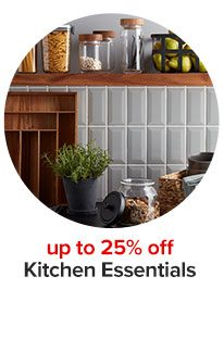 up to 25% off Kitchen