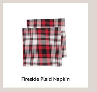 Fireside Plaid Napkin