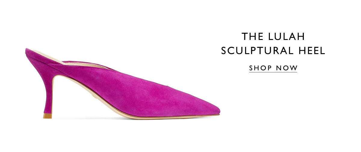 The LULAH Sculptural Heel. SHOP NOW
