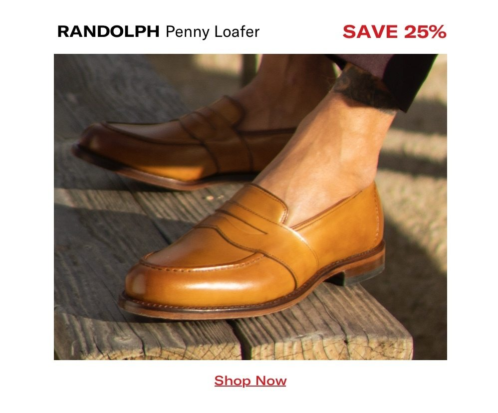 Shop Randolph Penny Loafer - Save 25%
