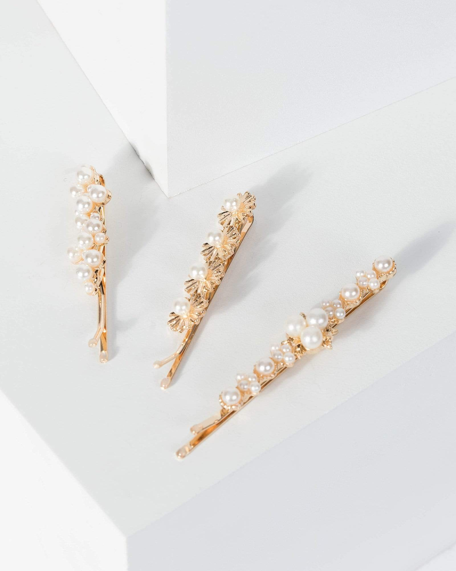 Image of Gold 3 Pack Variety Mini Pearl Slides