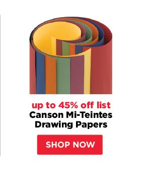 Canson Mi-Teintes Drawing Papers - up to 45% off list