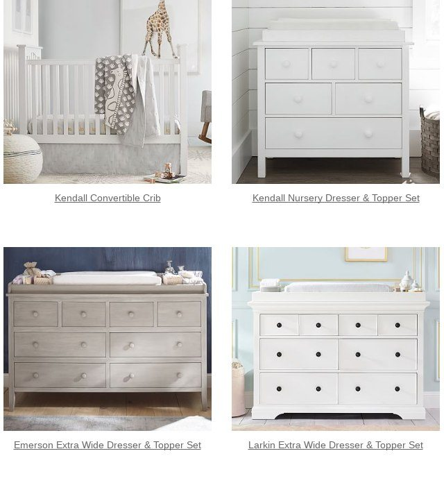Yes You Deserve This Kendall Extra Wide Nursery Dresser