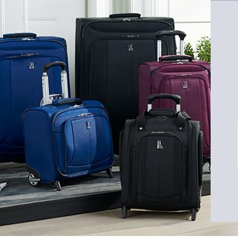 Take an extra $50 off your $200 purchase of luggage when you use promo code TRAVEL50. shop now.