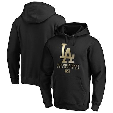Los Angeles Dodgers Fanatics Branded 2020 World Series Champions Parade Pullover Hoodie - Black