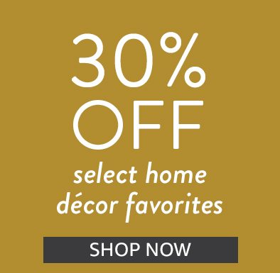 Save 30% on select home decor fabrics | Shop Now