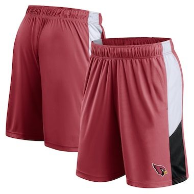 Arizona Cardinals Fanatics Branded Prep Colorblock Shorts – Cardinal