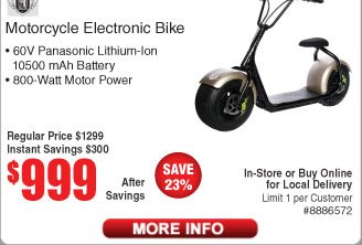 RIDE into 2018 with an Electric Rideable! $159 99 XtremPro