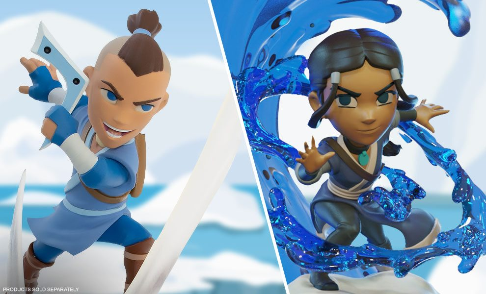 NEW Avatar: The Last Airbender Collectibles by Quantum Mechanix