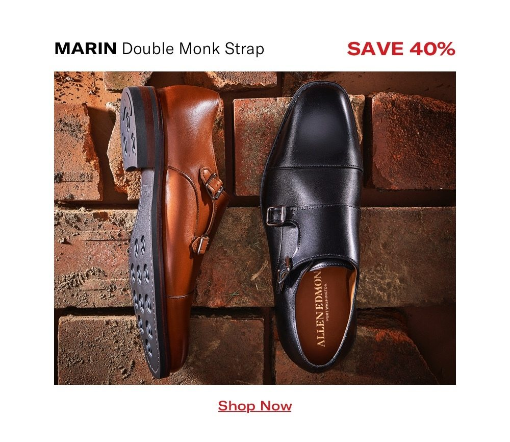 Save 40% On Marin Double Monk Strap