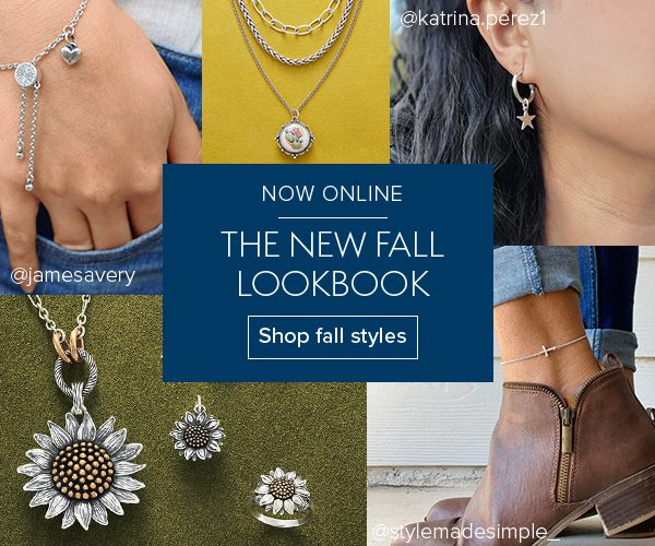 NOW ONLINE - The new Fall Lookbook - Shop fall styles